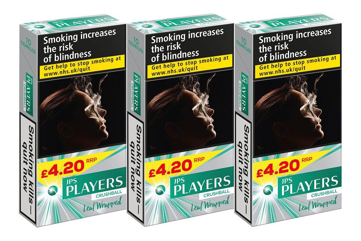 JPS Players Green Cigarillos