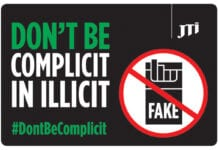 JTI don't be complicit poster