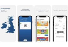 Screenshots of the new Lidl app