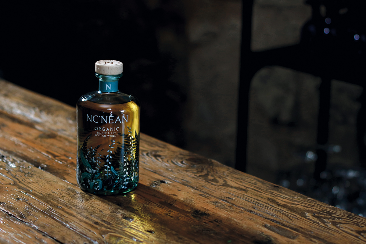 NcNean recycled clear glass packaging