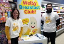 Healthy Living Programme director Kathryn Neil at the Welby Loyalty Card launch.