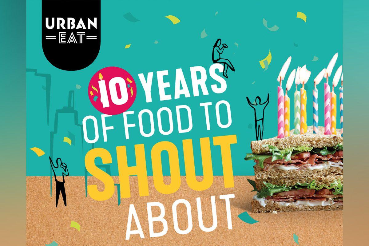Urban Eat ten year anniversary poster
