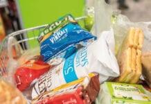 snacks in trolley