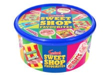 tub of sweets