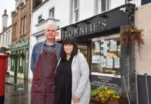 Bruce and Donna Morgan Brownlies Biggar