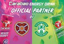 Carabao partner of Hearts and Hibs football teams