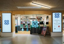 The Co-op's new Nisa franchise store on the University of Stirling campus.