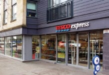Tesco Express store exterior