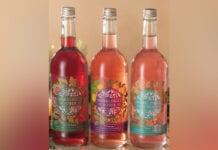 The Smart Up Drinks Lab bottles