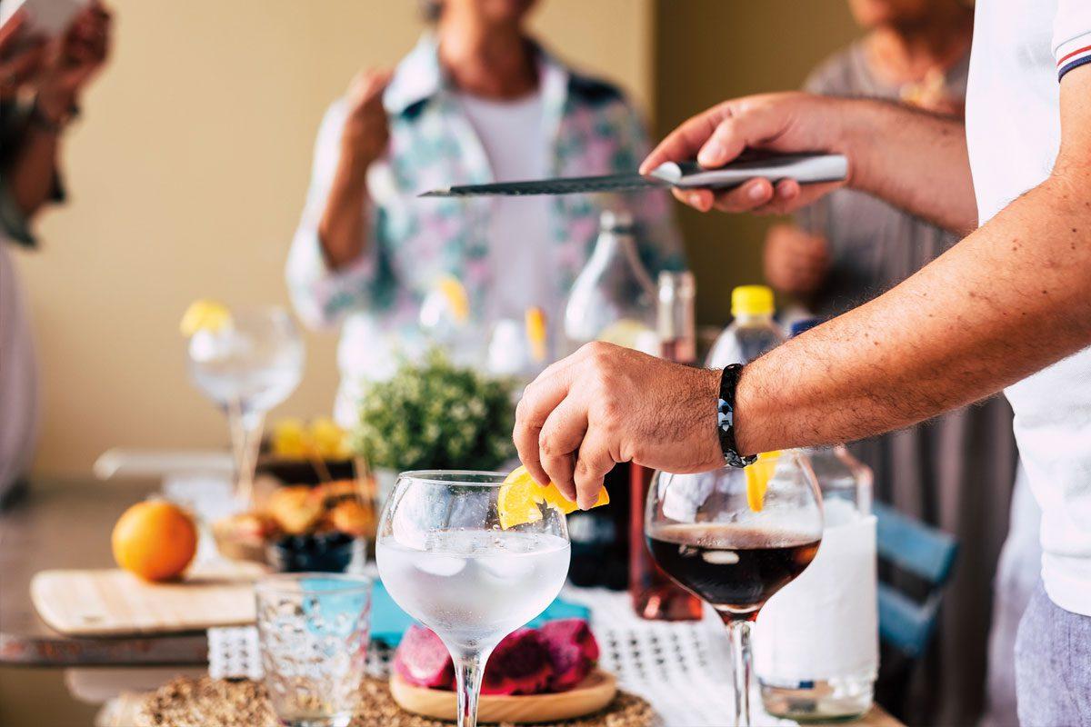 alcohol serves