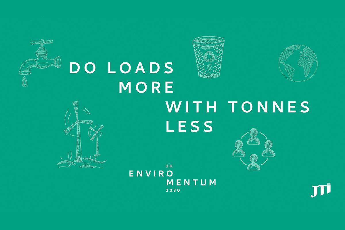 JTI Do loads more with tonnes less campaign