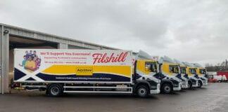 JW Filshill trucks