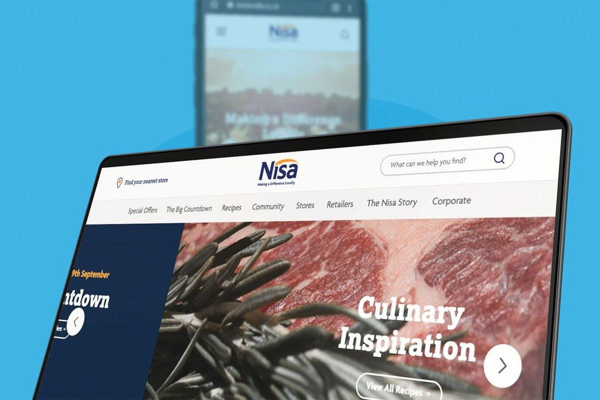 Nisa new website