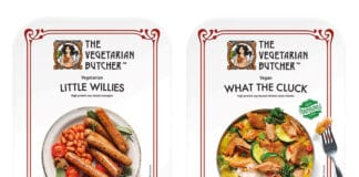 The Vegetarian Butcher Little Willies and What the Cluck range