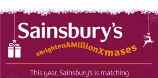 Sainsbury's bighten a million christmases