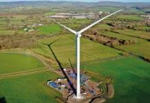 Budweiser South Wales wind turbine
