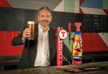 Tennent's MD Kenny Gray raised a glass to the Innis & Gunn partnership.