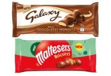 New Galaxy and Maltesers snacks