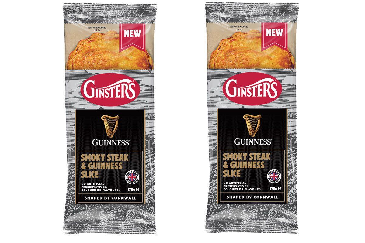 Ginsters steak & Guinness