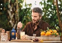 David Beckham & Haig Club Orange