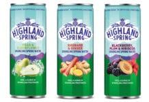 Highland Spring's new Sparkling Spring Water
