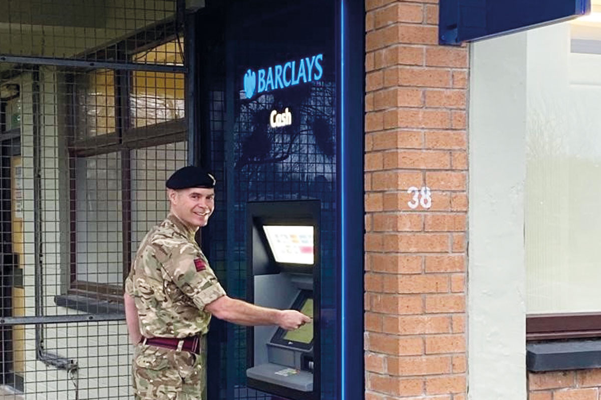 LINK ATM at Kinloss Barracks