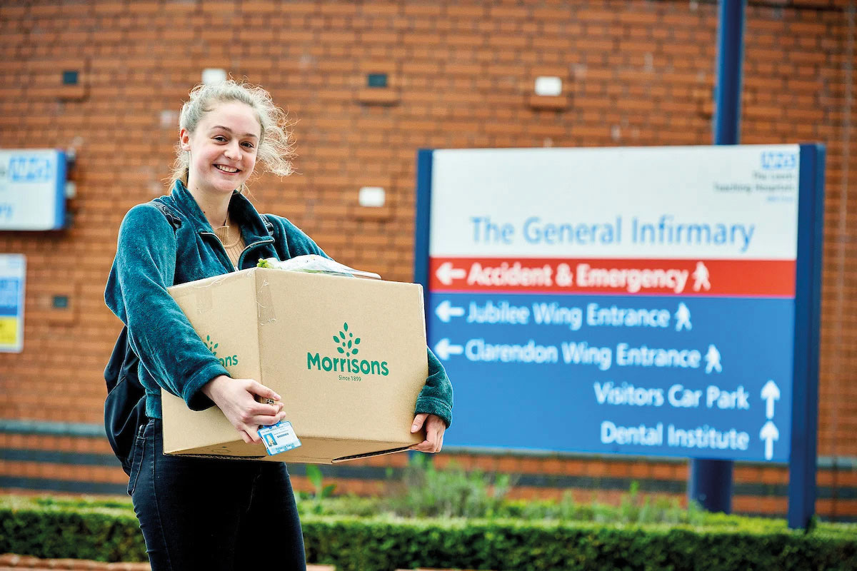 Morrisons covid donation