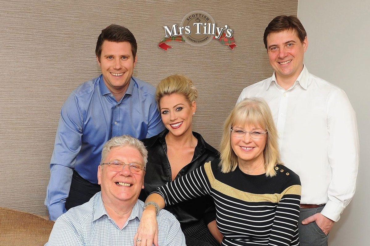 Mrs Tilly's family
