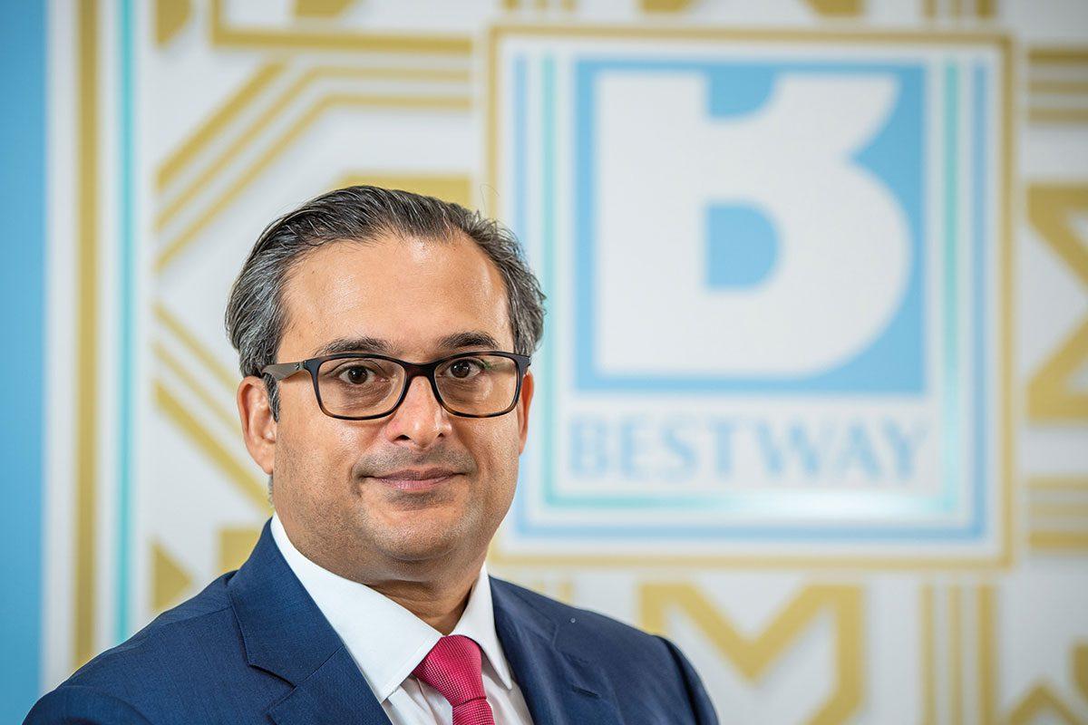 Dahwood Perves, managing director of Bestway