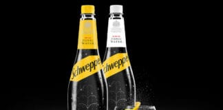Schweppes bottles