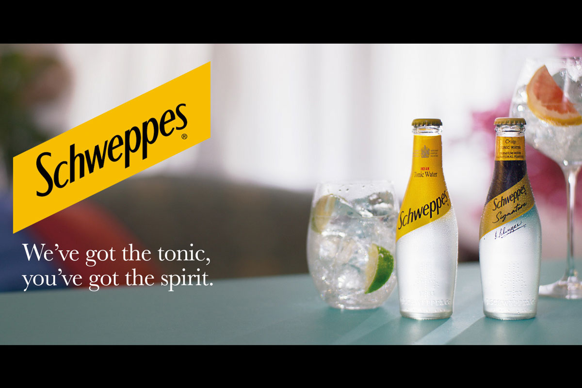 Schweppes TV campaign