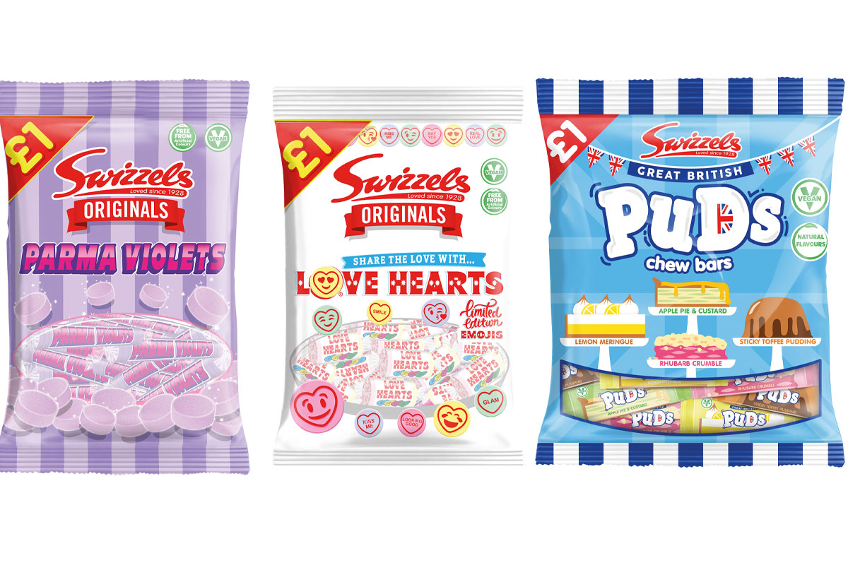 Swizzels confectionery bags