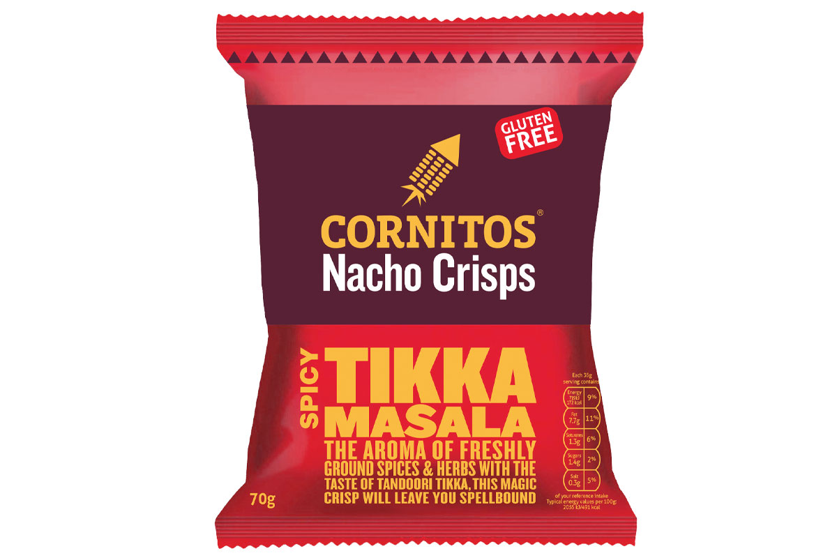Cornitos Tikka Masala crisps
