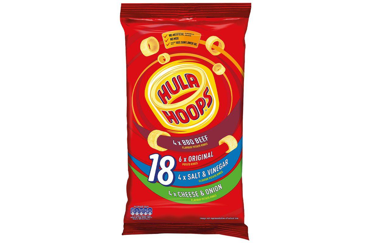 Hula Hoops variety pack