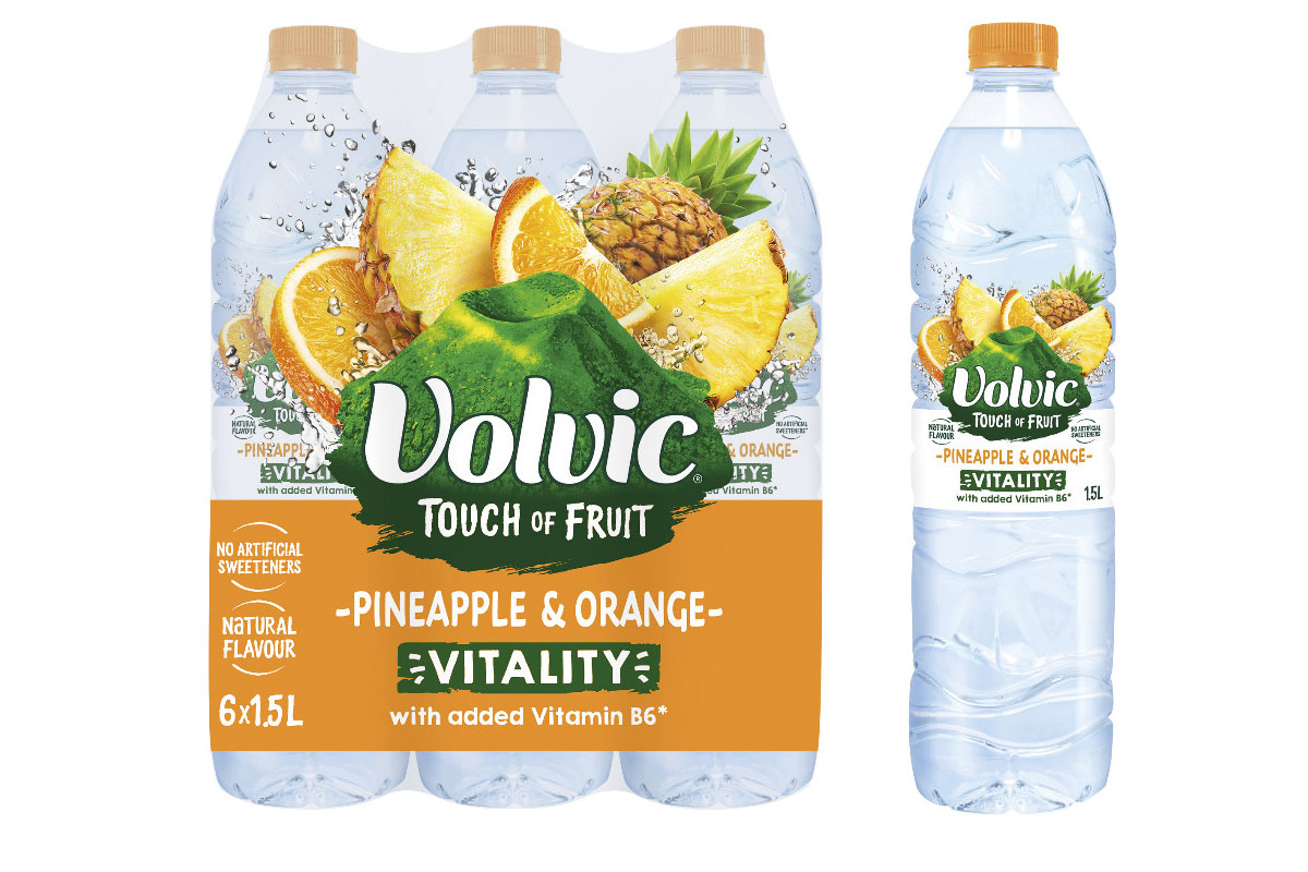 Volvic touch of pineapple pack