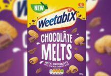 Weetabix chocolate melts