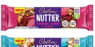 Cadbury Nuttier bars