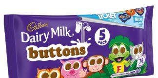 Cadbury buttons Merlin promotion