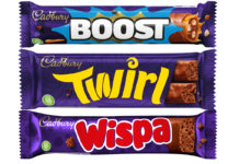 Cadbury single bars