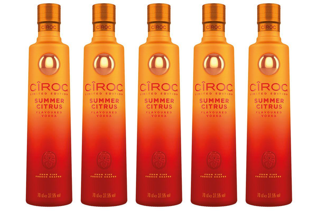 Ciroc Summer Citurus bottles