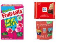 Sugar free options and vegan snacks