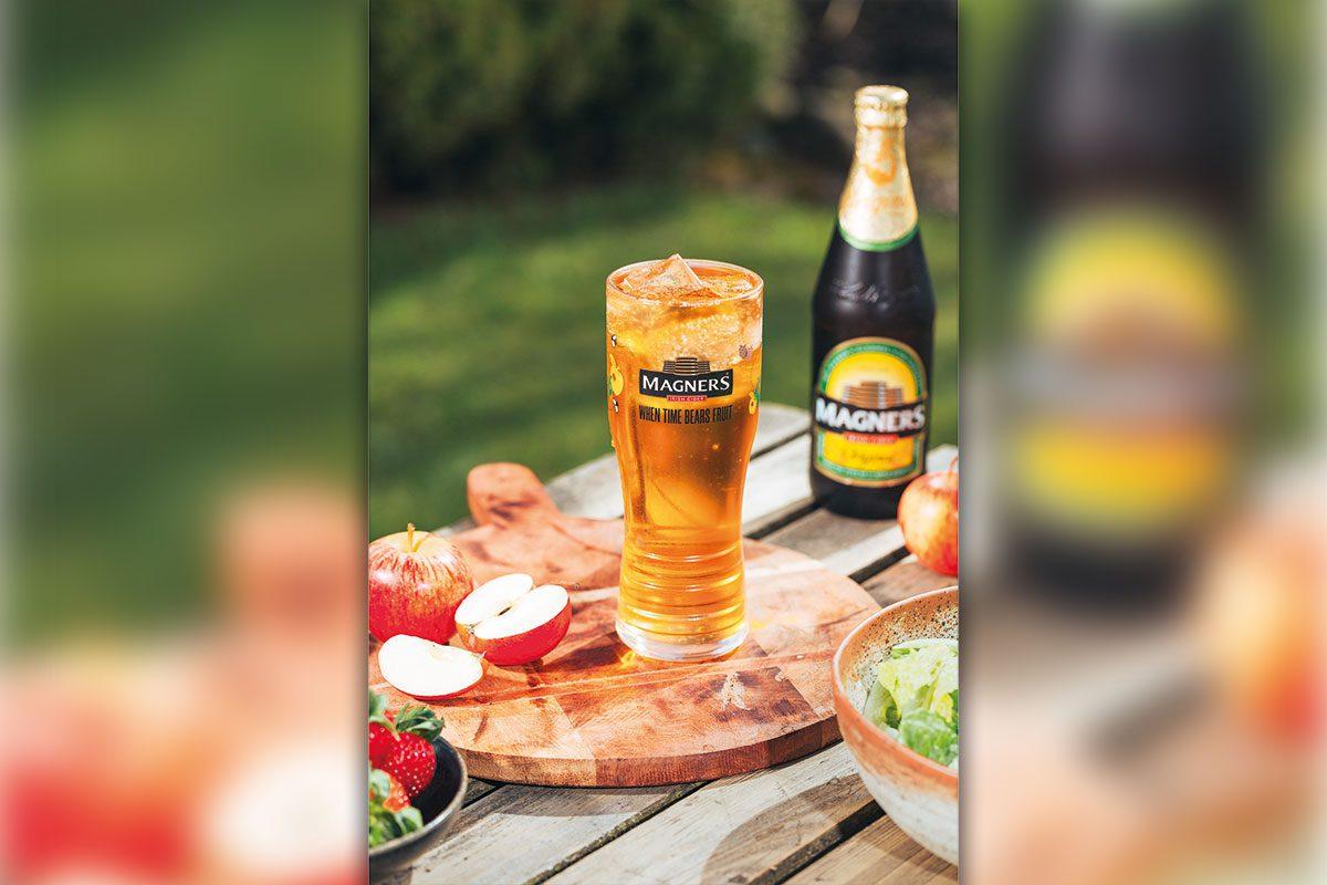 Magners Irish Cider at a picnic