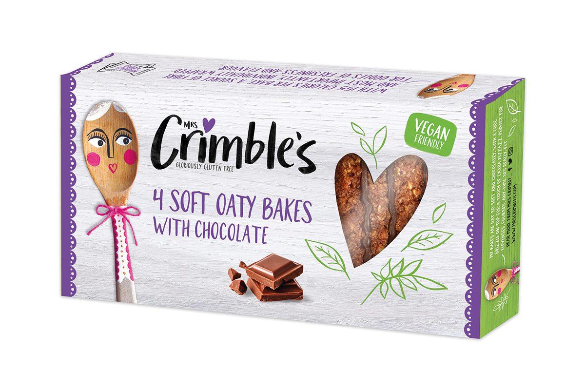 Mrs Crimbles soft choc oaty bakes