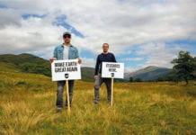 BrewDog Make Earth Great Again signs