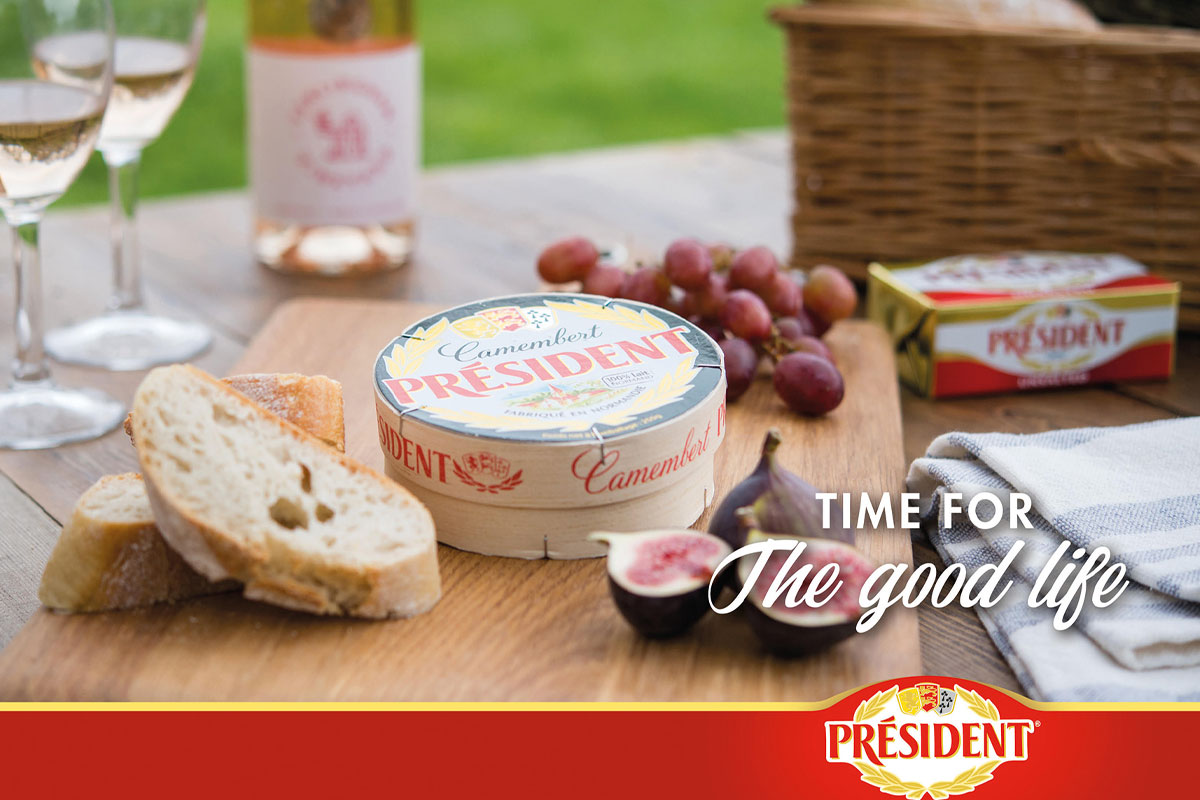 Président cheese new advertising campaign