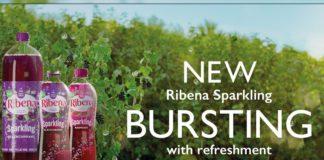 Ribena Sparkling marketing campaign