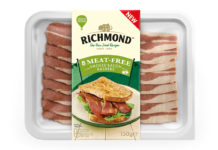 Richmond meat free bacon slices