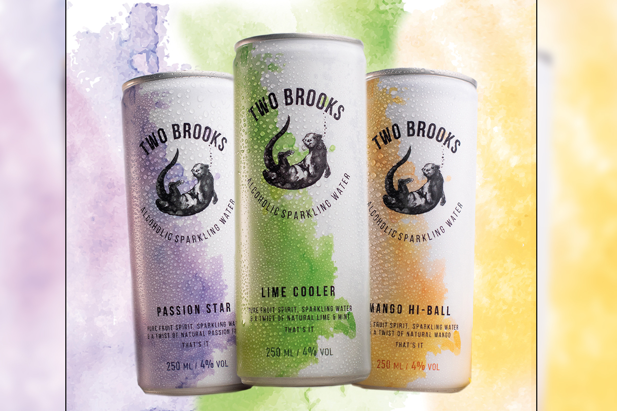 Two Brooks ready to drink cans