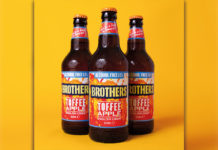 Brothers Toffee Apple Alcohol free