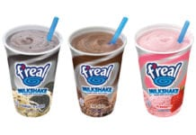 F'real tubs in different flavours